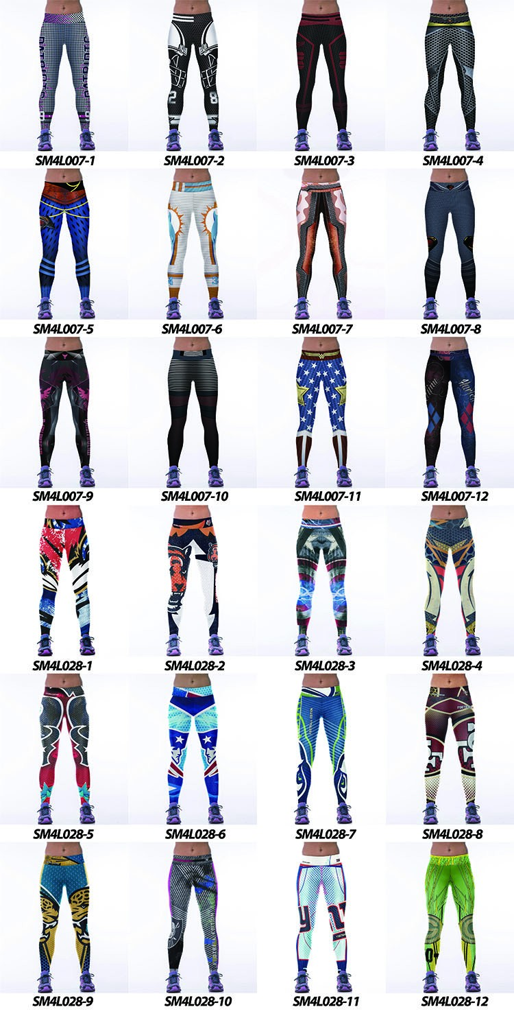 Printing Custom Sport Clothing And Pants Yoga Leggings
