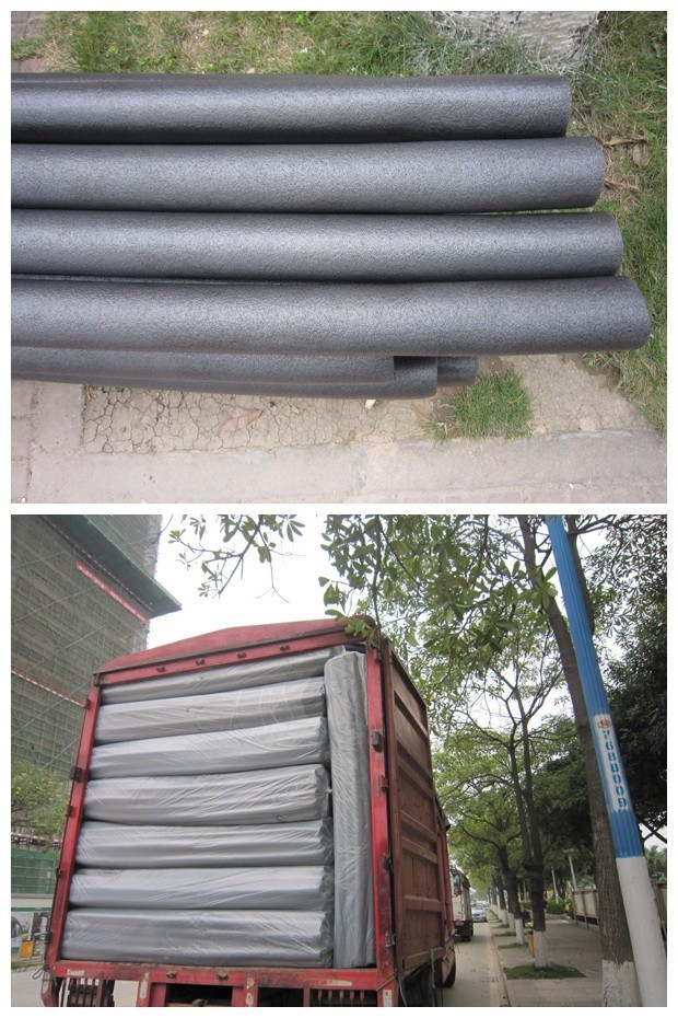 Tear resistance EVA foam rubber tube or EVA rubber foam grip