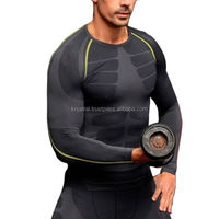 New Mens Boys Compression long Sleeve Sports Casual Custom T Shirt