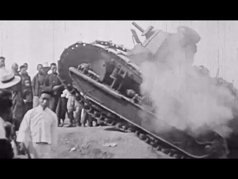 "USMC China Marines: ""American Tanks In China"" 1927 CineArt; 2nd Battalion, 4th Marines; JQ Music"