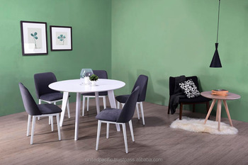 Color Blanco Mesa De Comedor/aqua Silla De Comedor/nuevo Diseño Comedor 1 +  4 - Buy Mesa Redonda De Madera,Sillas De Comedor,Malasia Muebles Product ...