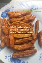 DRIED SOFT BANANA - in whole, cube/ dices fruit