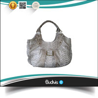 Low Price 100% Real Snake Skin Leather Ladies Hand Bag