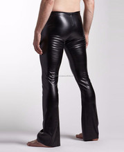 fashion winter leather trousers mens leather pants