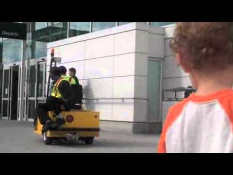 Luggage Cart / Machine Beep Beep At The Vancouver Airport