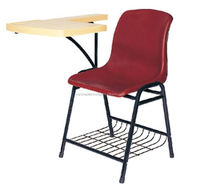 School Chair with Writing Tab