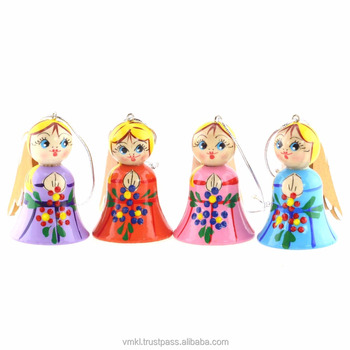 wooden angel souvenir 55 cm russian christmas decorations religious craft vpang05