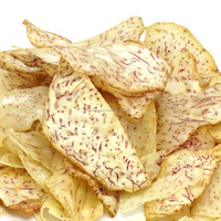 Halal Natural Taro chip 100% vegetable snack from Thailand