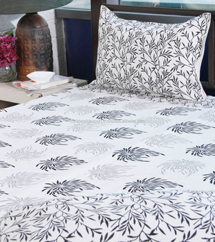 India Bed Linen Direct,black And White Damask Bedding,fitted Bed Sheets US