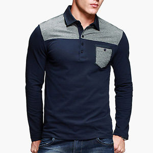 469da3c74b7f Mens Long Sleeve Polo Shirts - Buy Mens Long Sleeve Polo Shirt With ...