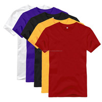 Customized bulk cheap high-quality simply basic plain t-shirts