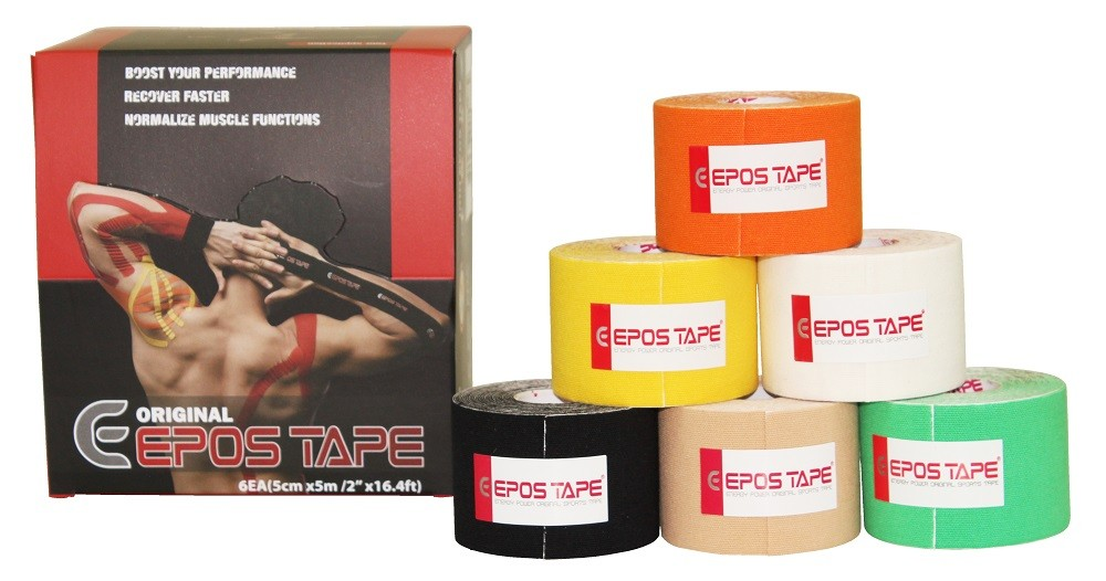 Original EPOS TAPE / Sports Tex Tape / Kinesiology / South Korea