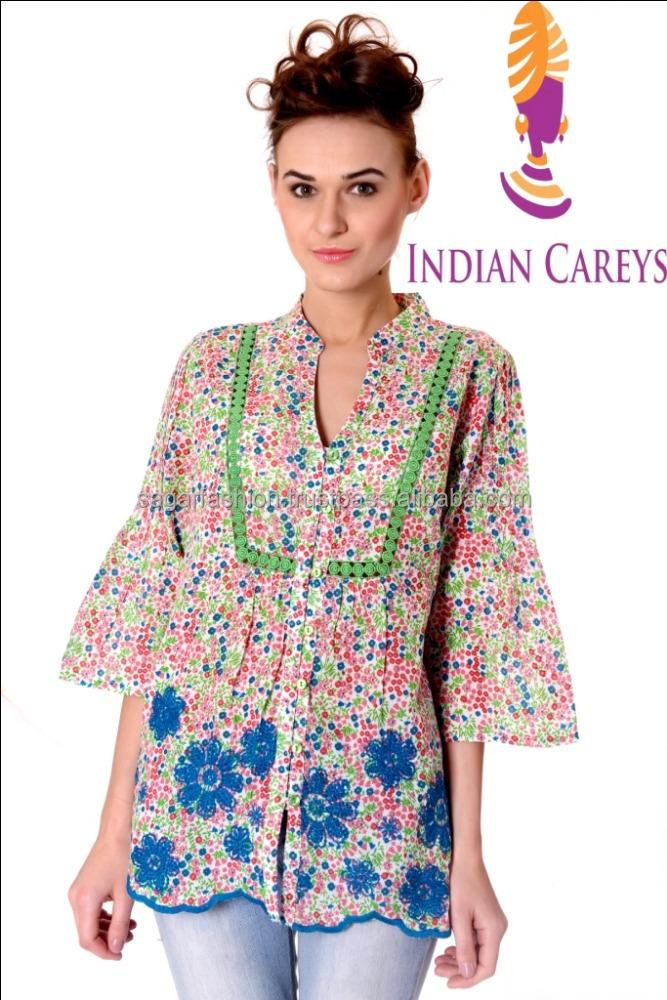 2d71b60927 Indian Ethnic Wear Ladies Girls Tunic Wholesaler Manufacturer Travel Wear  Jeans Tunic Summer Light Colors Western Dress - Buy Girls Fashion Tunics  2013 ...