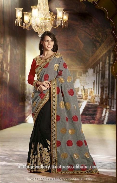 ec1c9cadfaae0 Festa indiana vestir sari fantasia-Roupas da Índia e do Paquistão-ID ...