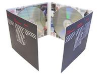 DVD movie replication and 8 panel DVD digipak