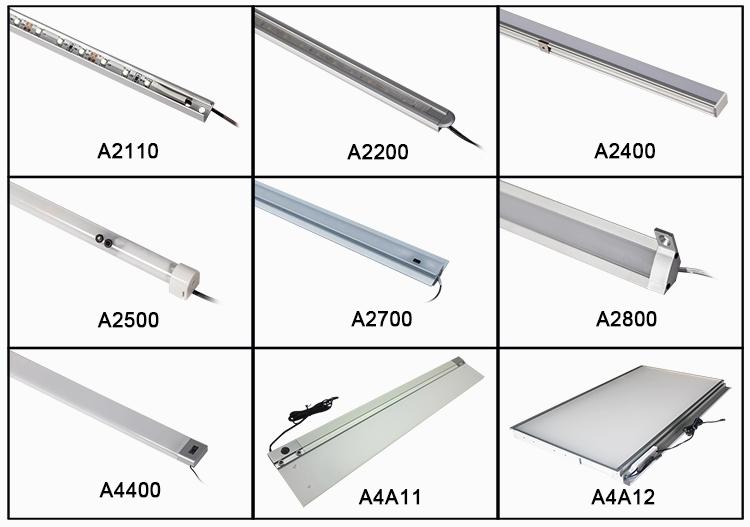 Alibaba Popular Kitchen Light Free Connect Kitchen Cabinet Led Light Bar Kit With Sensor Switch