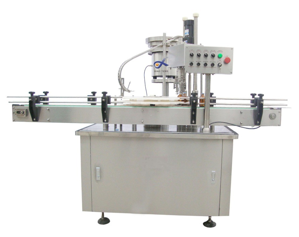 Fully automatic e cig oil liquid filling and capping machine/bottled e juice packing machine