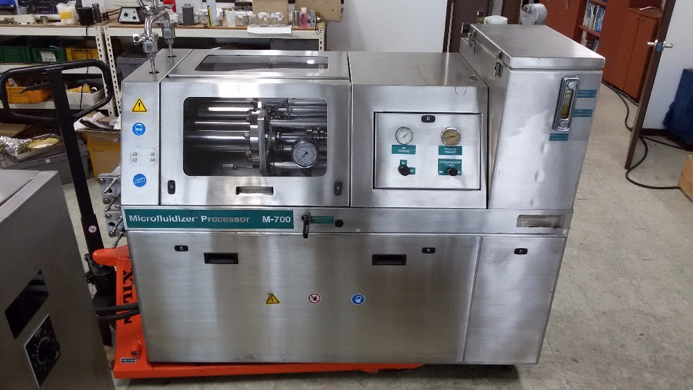 Refurbished Microfluidizer M-7250 with New Chamber