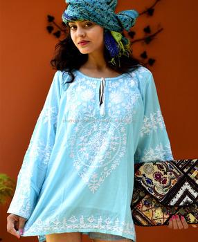 af18799e14c Party Wear Indo Western Stylish Beach Tunics - Buy Beach Kaftans ...