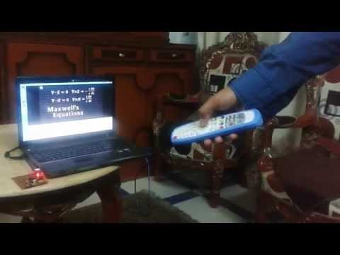 Remote controlled media player using IR Remote Controller