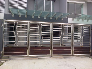 Stainless Steel Gate Buy Steel Gate Design Product On