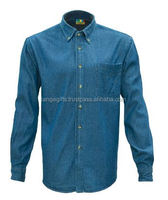 APP1416 Men Denim Shirt