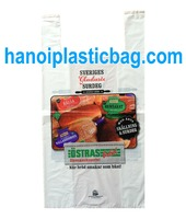 HDPE FRUIT TSHIRT BAG, SINGLET BAG, CUSTOMIZED BAG