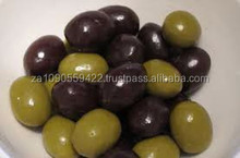 Fresh Green & Black Olives