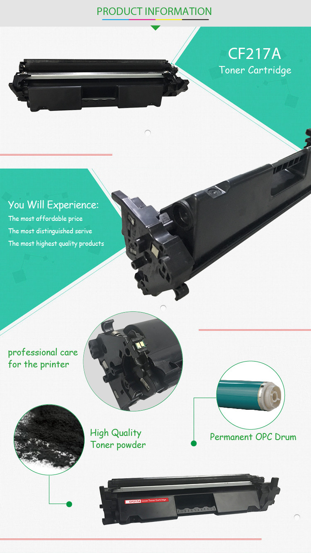 Promo Hp 17a Black Original Laserjet Toner Cartridge Terbaru 2018 Aigner A24206e Gs Cf217a Laser Compatible For Printer