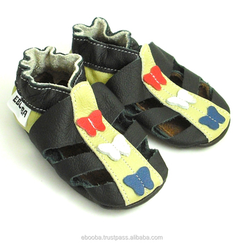 0334f4f221e73 Black Baby Shoes,Baby Girl Sandals,Leather Baby Shoes,Girls Shoes,Baby  Sandals Soft Sole,Pre-walker Baby Shoes - Buy Sandals Black Butterflies  Olive ...