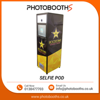 2017 New Style Selfie POD Photo Booth Kiosk from Trusted Supplier