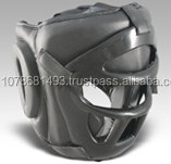 Plastic BOXING HEAD GUARD, REAL LEATHER HEAD GUARD, NEW DESIGN HEAD GUARD