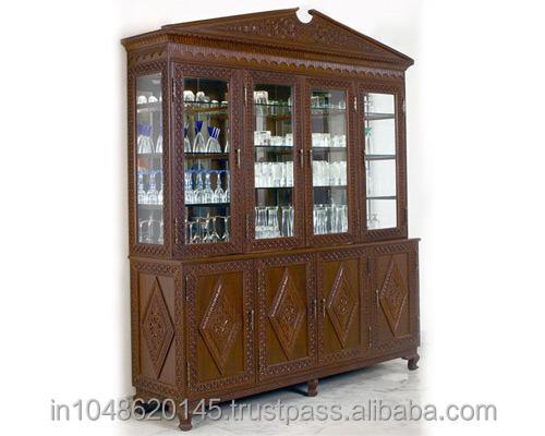 Antique Wooden Crockery Cabinet, Antique Wooden Crockery Cabinet Suppliers  And Manufacturers At Alibaba.com