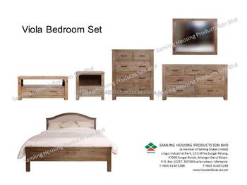 Viola Bedroom Furniture In Solid Acacia