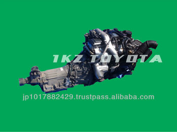 Used car engine for TOYOTA 1KZ-TE made in Japan, View Used engines, FOR  TOYOTA Product Details from CAREPO CORPORATION on Alibaba com