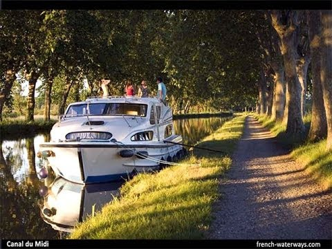 Self-Drive Hire Boat Holidays in France