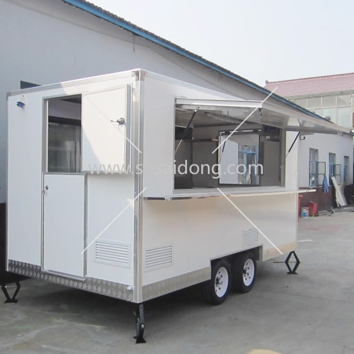 Cheaper Price China Professional Catering Van Truck Bike