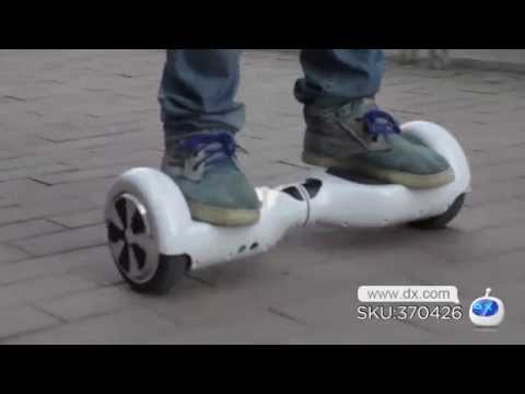 Fresh Vehicle Again! EYU X1 2-Wheel Self Balance Drifting Electric Vehicle -- DX.COM