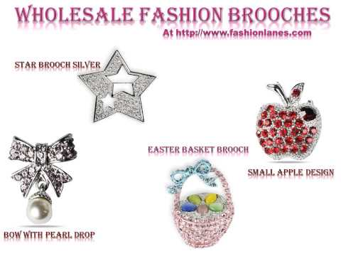 Wholesale brooches, fashion brooches, designer brooches,