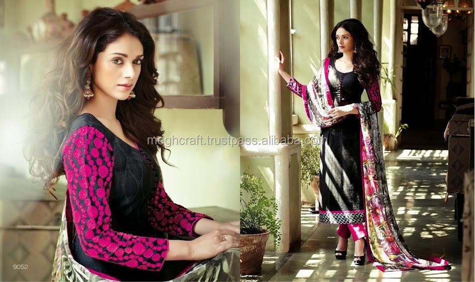 314fa0a12e15d Wholesale chiffon suits online-Indian & pakistani style clothing - anarkali  salwar kameez - Unstitched salwar kameez