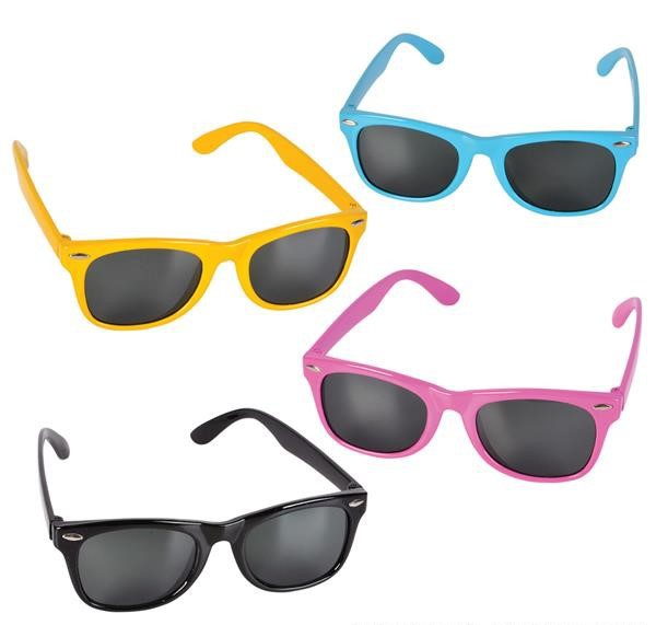 NEON KIDDIE TOY SUNGLASSES
