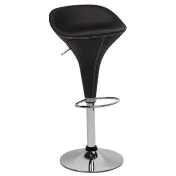 Bar Kitchen Chair In High Resistible Pu + Abs With Chrome Legs Carmen 3074  Red,Black Colors - Buy Bar Chair,Kitchen Bar Chairs,Chair Bar Product on ...