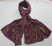 Nice Quality Floral Printed Cotton Scarves Manufacturer from India