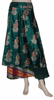 Indian Reversible Silk Wrap Skirt