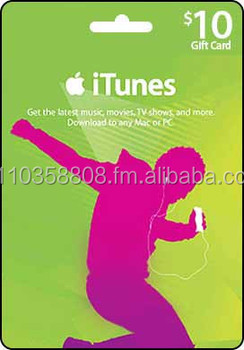 Instant Online Itunes Gift Card - Buy Gift Card Product on Alibaba com