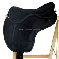 Synthetic Horse saddle All purpose English treeless saddle