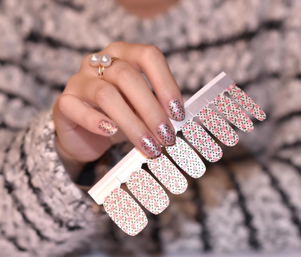 Diy Jamberry Quality New Nail Wraps,Nail Art Stencil Sticker ...