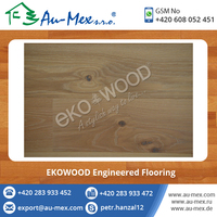 Oak Eur Brushed White Engineered Wood Flooring