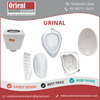 Finest Quality Flat Back and Waterfree Wall Mounted Urinal from Reputed Vendors