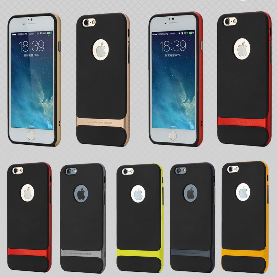"Hybrid Bumper Case For iPhone 6 & 6s (4.7"") by Rock Royce Wholesale Los Angeles"